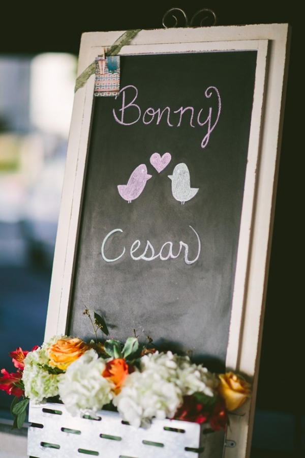 Cute chalkboard sign