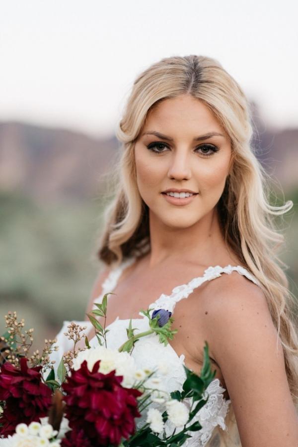 Pretty Arizona Mountain Shoot Bride