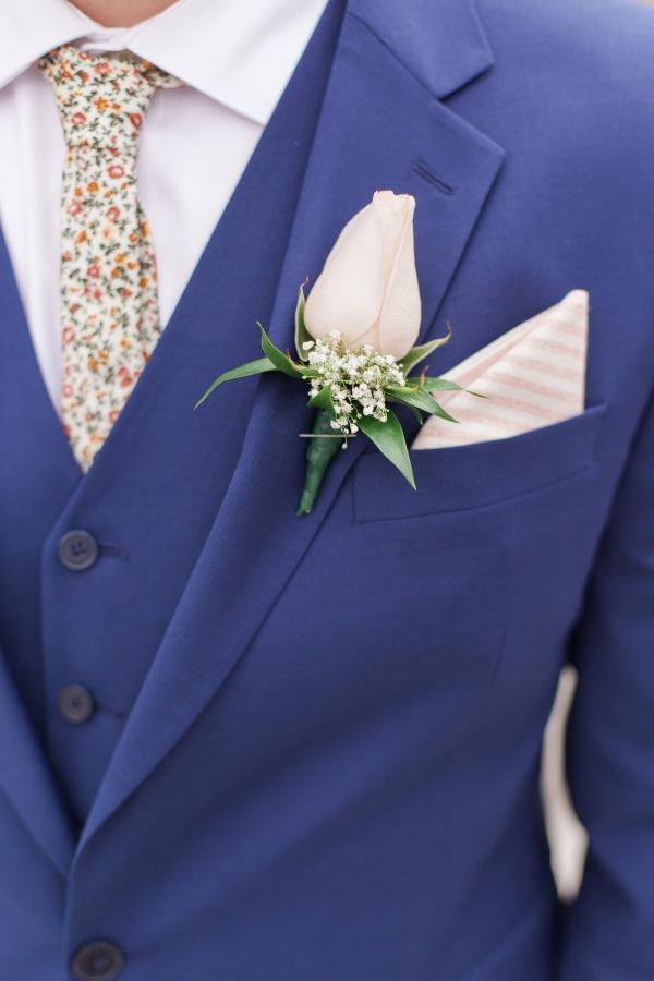Stylish Blue Suit