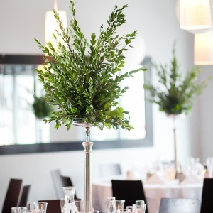 Simple Plant Centerpieces