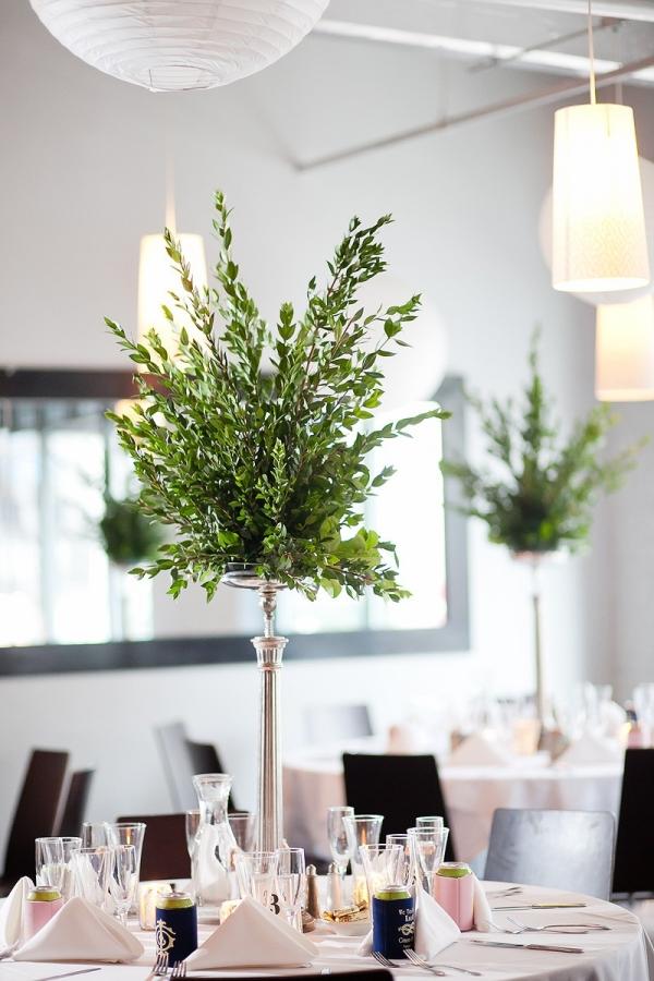 Simple Plant Centerpieces