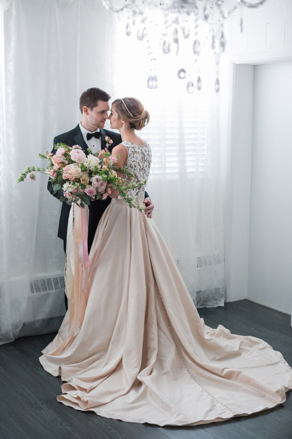 Classic Bride And Groom