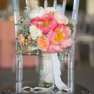 Gorgeous Pink And White Peony Bouquet