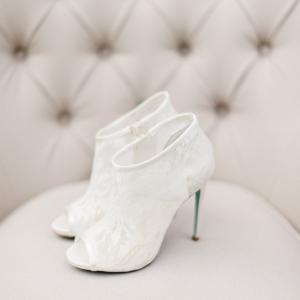 Lace Bridal Boots