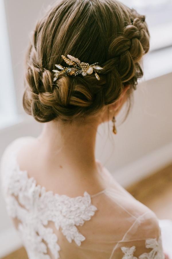 Beautiful braided updo