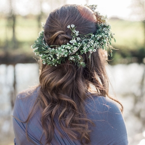 Simple Floral Wreath