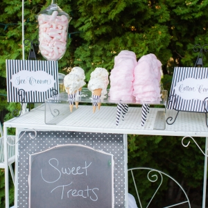 Sweet treats station