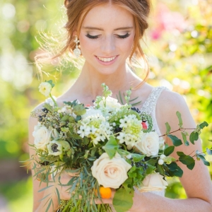 Gorgeous unstructured bouquet