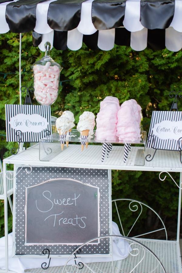 Sweet treats station