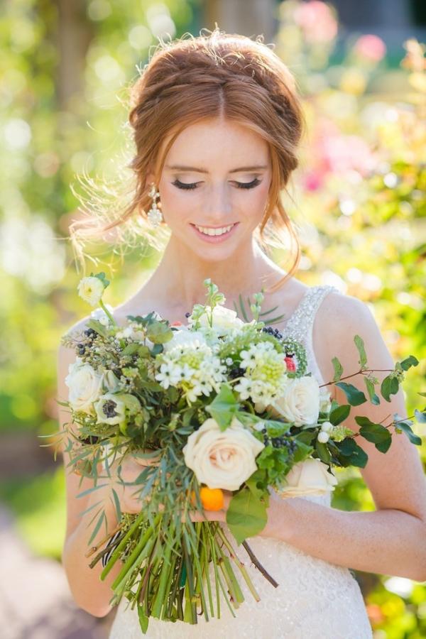 Gorgeous unstructured bouquet