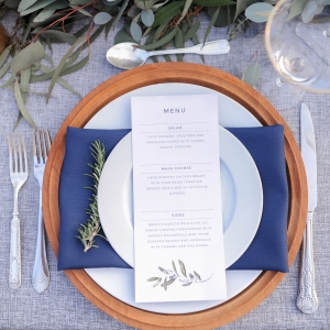 Tuscan style table setting