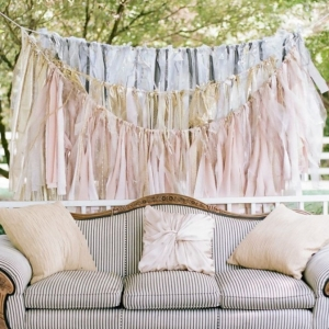 Handmade Tassel Backdrop