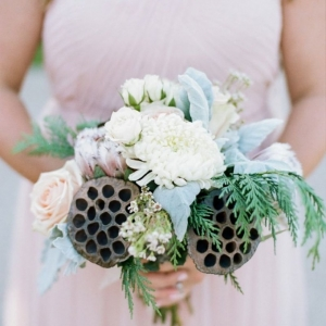 Pretty Lotus Seed Pod Bouquet