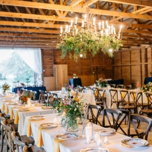 Rustic chic barn wedding
