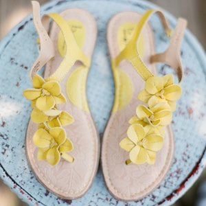 Happy yellow sandals