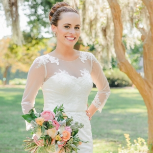 Beautiful southern bride