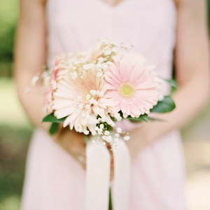 Gerber Daisy & Baby's Breath Bouquet