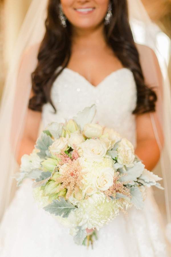 Light And Airy Wedding Bouquet