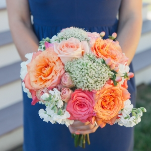 Pretty bridesmaid bouquet