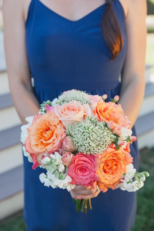 Pretty bridesmaid bouquet
