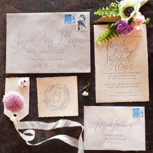 Easter styled invitation suite