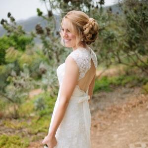 Malibu hilltop bride