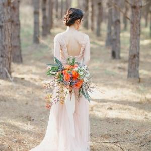 Dreamy & romantic bridal style