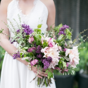 Pretty Unstructured Bouquet