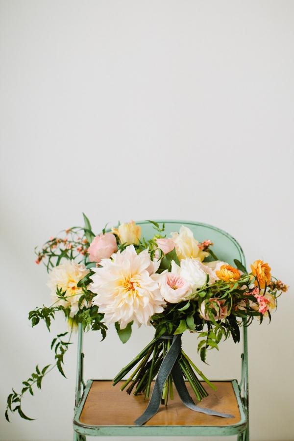 Stunning Pink And Blush Dahlia Bouquet