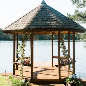 Lakeside Ceremony Gazebo