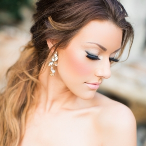 Elegant And Glam Bridal Makeup