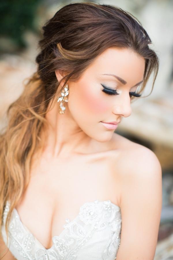 Elegant And Glam Bridal Makeup