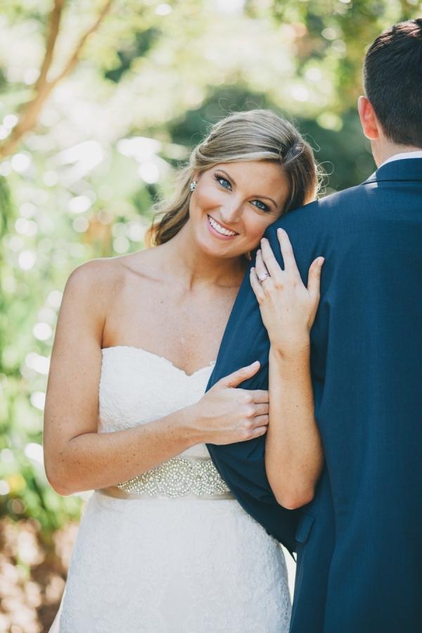 Sweet bride and groom portraits