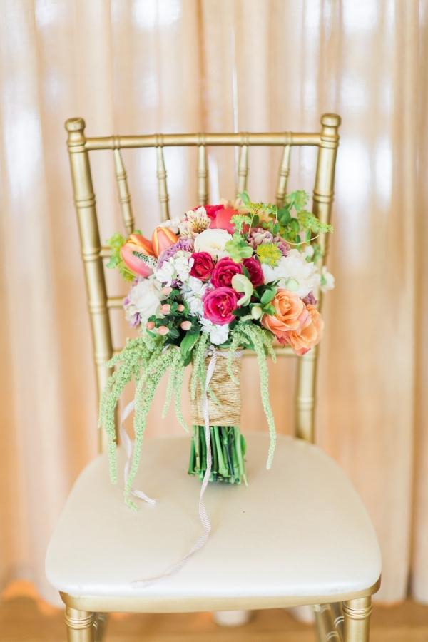 Elegant colorful bouquet