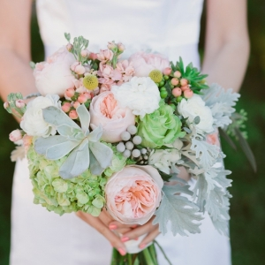 Blush and Sage Bouquet