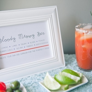 Cat Inspired Bloody Mary Cocktail