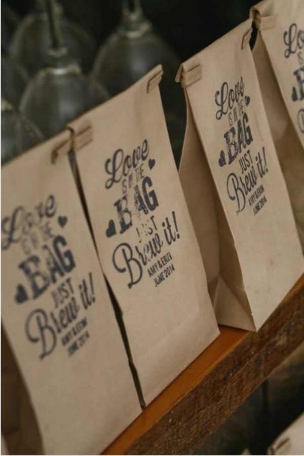Coffee Bean Favors
