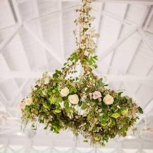 blush spring garden wedding on Glamour & Grace