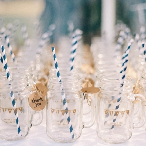 mason jar favors on Glamour & Grace
