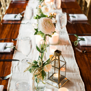 Romantic lantern centerpiece