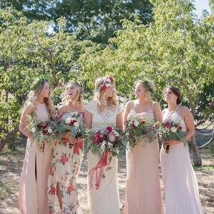 boho cherry orchard wedding   Megan Hayes Photography   Glamour & Grace