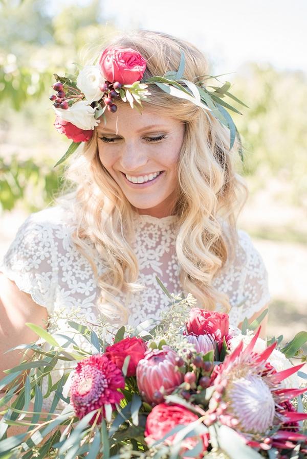boho cherry orchard wedding | Megan Hayes Photography | Glamour & Grace