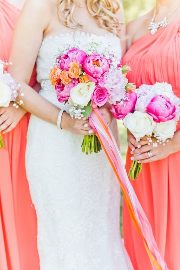 bright springtime wedding by Kate Supa Photography on Glamour & Grace