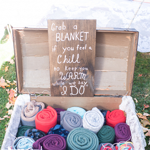 Blankets for guests