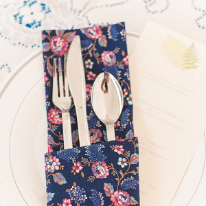 Printed place setting