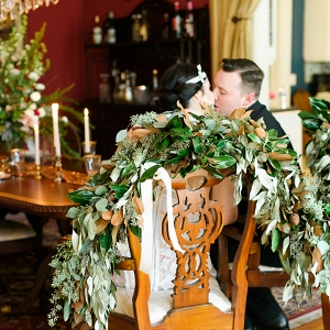 elegant 1920s wedding inspiration by C. Hope Photography on Glamour & Grace