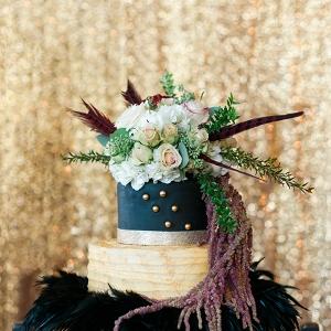 elegant 1920s wedding inspiration by C. Hope Photography on Glamour & Grace