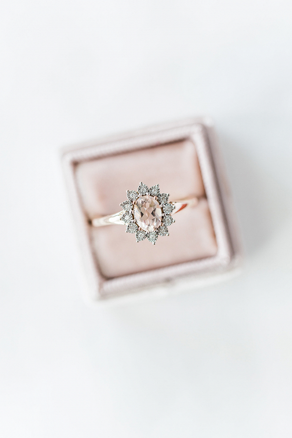 Oval blush ring