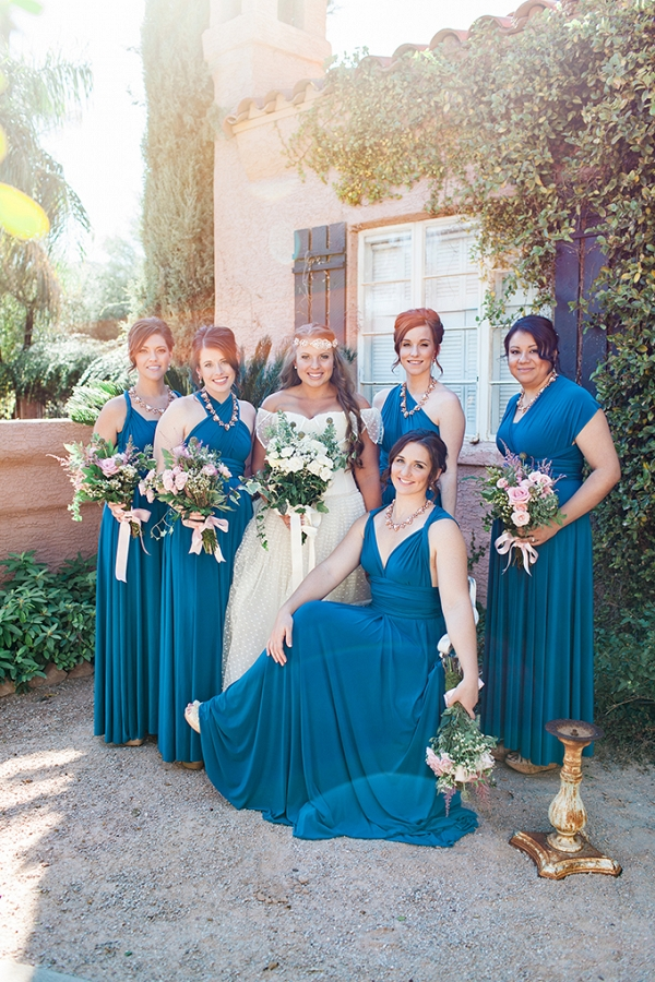 handmade vintage backyard wedding from Dan & Erin PhotoCinema on Glamour & Grace