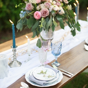 romantic vintage wedding inspiration from Anna Phillips Photography on Glamour & Grace